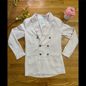 3/$30 Forever 21 two button blazer light p…